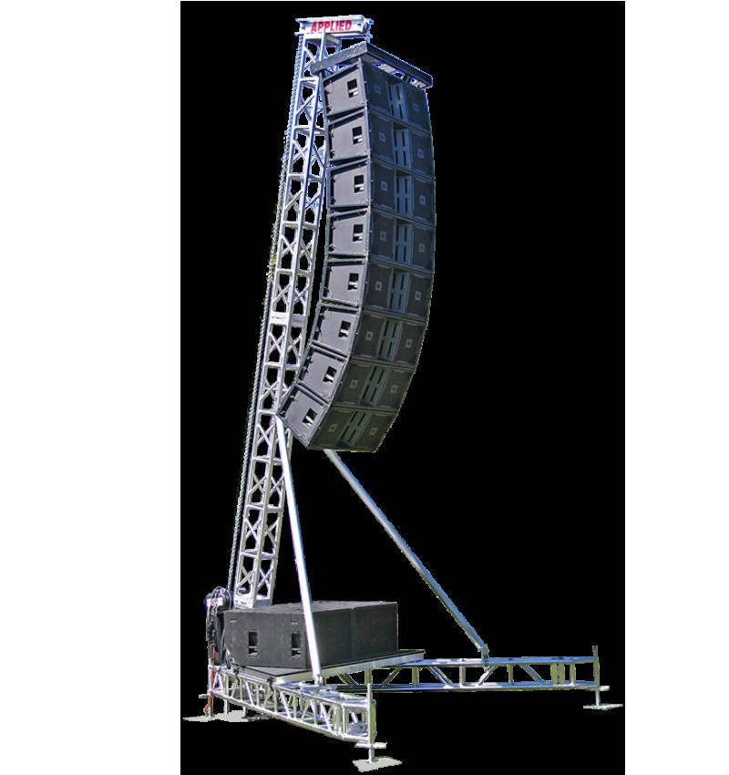 LA12-25 Line Array Tower » Applied Electronics
